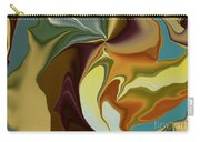 Abstract With Mood Carry-all Pouch by Deborah Benoit