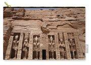 Abu Simbel Egypt 3 Carry-all Pouch