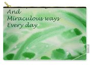 Abundance Affirmation Carry-all Pouch