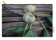 Acorns And Oak Leaves Carry-all Pouch