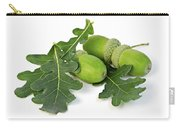 Acorns With Oak Leaves Carry-all Pouch