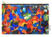 Acrylic Abstract Upon Wood Carry-all Pouch