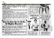 Ad: Body-building, 1969 Carry-all Pouch