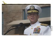 Admiral Eric Olson Speaks Carry-all Pouch by Michael Wood