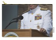 Admiral Mike Mullen Speaks Carry-all Pouch by Michael Wood