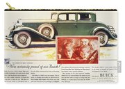 Ads: Buick, 1932 Carry-all Pouch