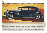 Ads: Packard, 1932 Carry-all Pouch