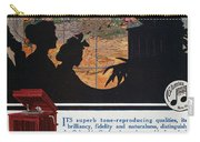 Ads: Phonograph, 1914 Carry-all Pouch