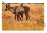 Adult Caribou In The Fall Colours Carry-all Pouch