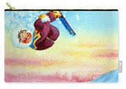 Aerial Skier 13 Carry-all Pouch