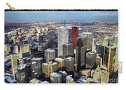Aerial View From Cn Tower Toronto Ontario Canada Carry-all Pouch