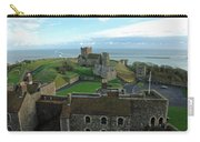 Aerial View Of Dover Castle Carry-all Pouch
