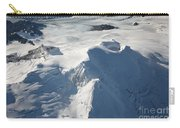 Aerial View Of Glaciated Mount Douglas Carry-all Pouch