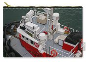 Aerial View Of Red Tug  Carry-all Pouch