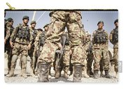 Afghan Air Force Members Get Briefed Carry-all Pouch