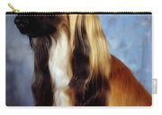 Afghan Hound Carry-all Pouch