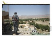 Afghan Policeman Standing Carry-all Pouch