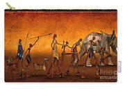Africa Carry-all Pouch by Jutta Maria Pusl