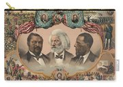 African Americans, C1881 Carry-all Pouch