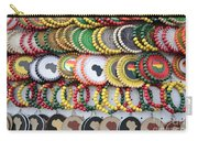African Beaded Earrings Carry-all Pouch
