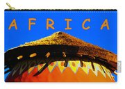 African Dwelling Carry-all Pouch
