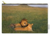 African Lion Panthera Leo Male Carry-all Pouch