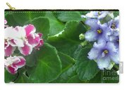 African Violets Intertwined I Carry-all Pouch
