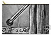 After The Shower - Bw Carry-all Pouch by Christopher Holmes