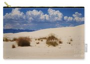 Afternoon At White Sands National Monument Carry-all Pouch