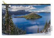 Afternoon Clearing At Crater Lake Carry-all Pouch
