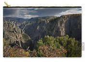 Afternoon Clouds Over Black Canyon Of The Gunnison Carry-all Pouch