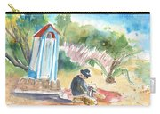Afternoon On A Cretan Beach Carry-all Pouch