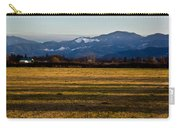 Afternoon Shadows Across A Rogue Valley Farm Carry-all Pouch