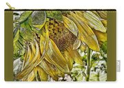 Afternoon Sunflower Carry-all Pouch