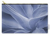 Agave In Blue Carry-all Pouch