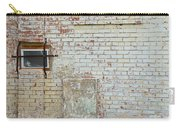 Aged Brick Wall With Character Carry-all Pouch