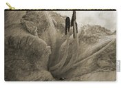 Aged Daylily Carry-all Pouch