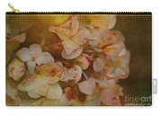 Aged Hydrangeas With Texture Carry-all Pouch