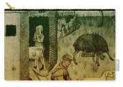 Agriculture, Medieval Farming Carry-all Pouch
