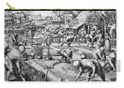 Agriculture: Spring, C1555 Carry-all Pouch