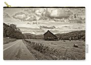 Ah...west Virginia Sepia Carry-all Pouch