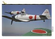 Aircraft From The Tora, Tora, Tora Carry-all Pouch