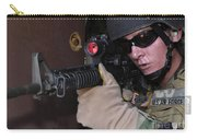 Airman Posts Security At The Front Door Carry-all Pouch