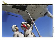 Airmen Attach Pallet Rigs To An Sa-330j Carry-all Pouch
