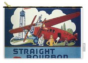 Airport Whiskey Label Carry-all Pouch