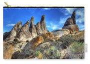 Alabama Hills Granite Fingers Carry-all Pouch by Bob Christopher