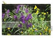 Alabama Purple Ironweed Wildflowers - Vernonia Gigantea Carry-all Pouch