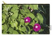 Alabama Wild Pink Morning Glories Carry-all Pouch