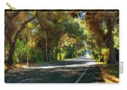 Albufera Road To El Palmar. Valencia. Spain Carry-all Pouch