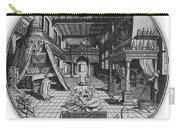 Alchemists Laboratory, 1595 Carry-all Pouch by Science Source